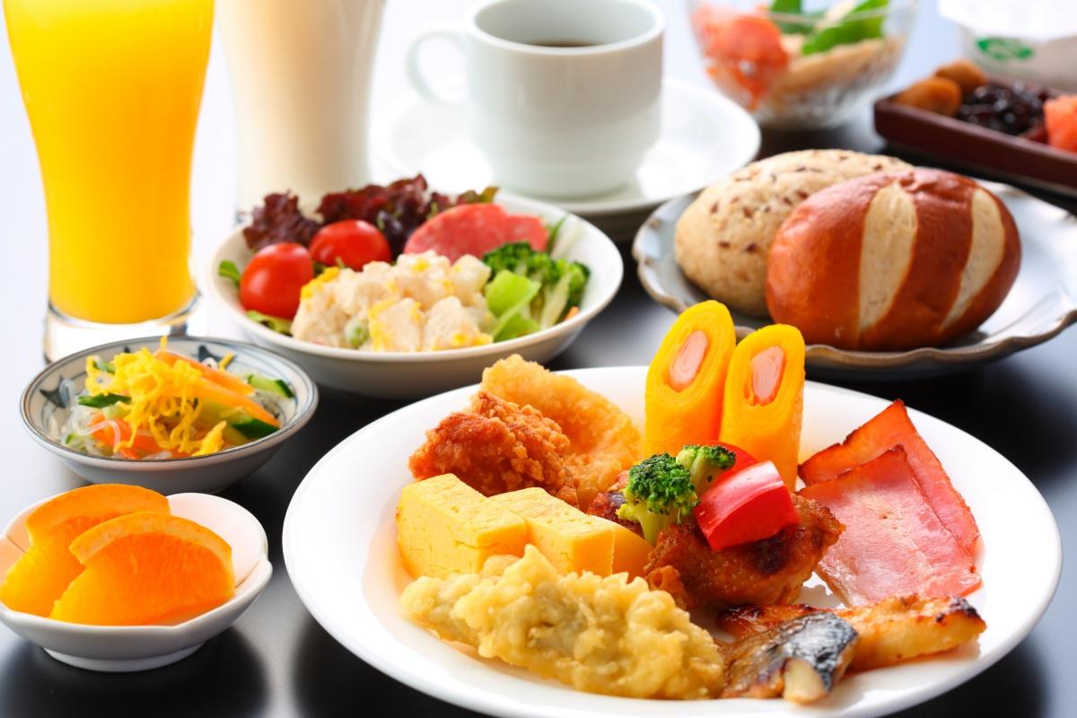 ホテルルートイン太田南-国道407号- / 【小学生以下添い寝可能プラン】バイキング朝食付き