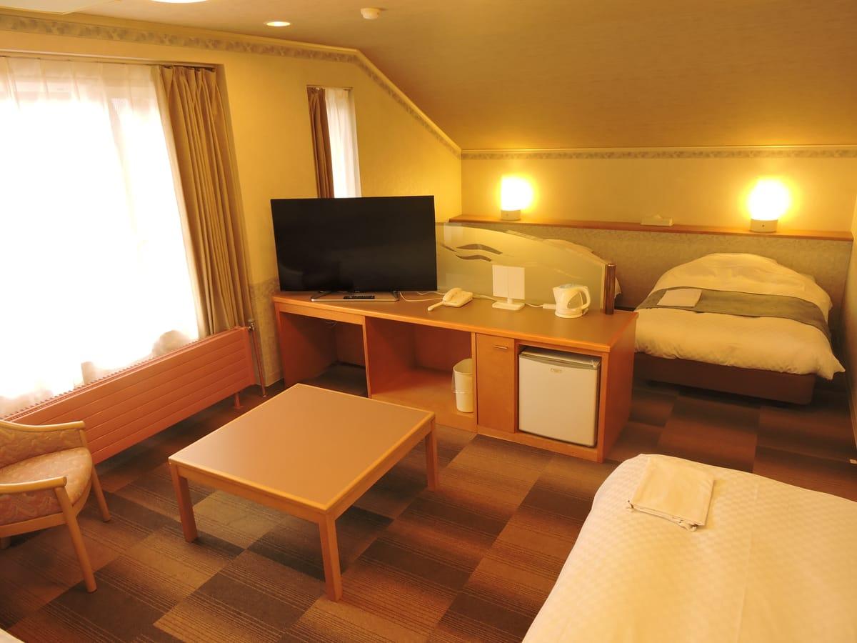 ホテルアベスト白馬リゾート / ファミリーツインルーム【ユニットバス付】家族でゆったり♪