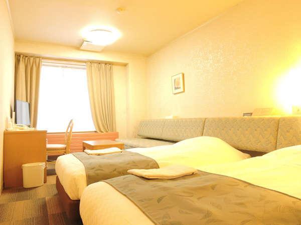 ホテルアベスト白馬リゾート / ツインルーム【アウトバス・アウトトイレ】ご予算を抑えるなら!