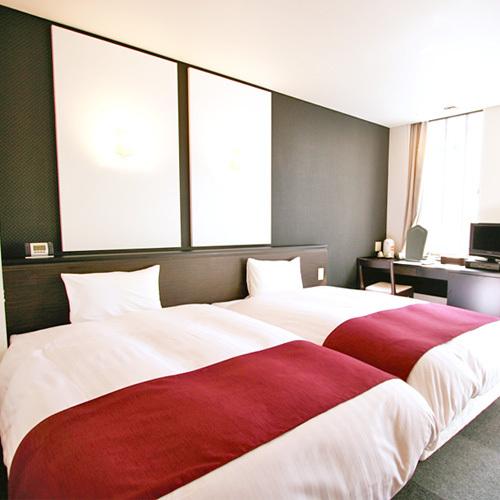 ホテルアベスト姫路 / ◆喫煙ツイン(ベッド幅120cm×2台)