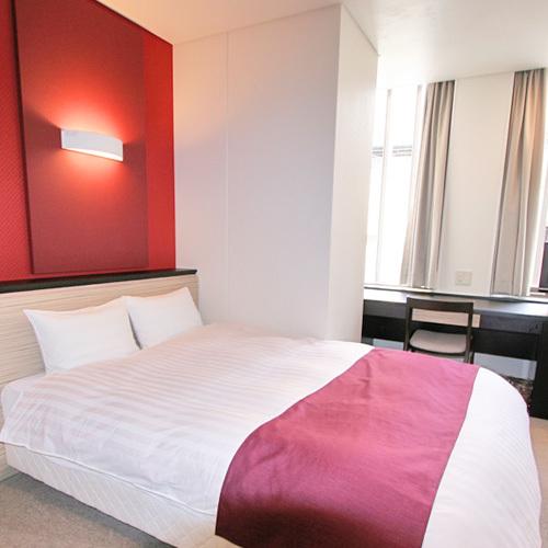 ホテルアベスト姫路 / ◆1F限定喫煙ダブル(ベッド幅140cm)