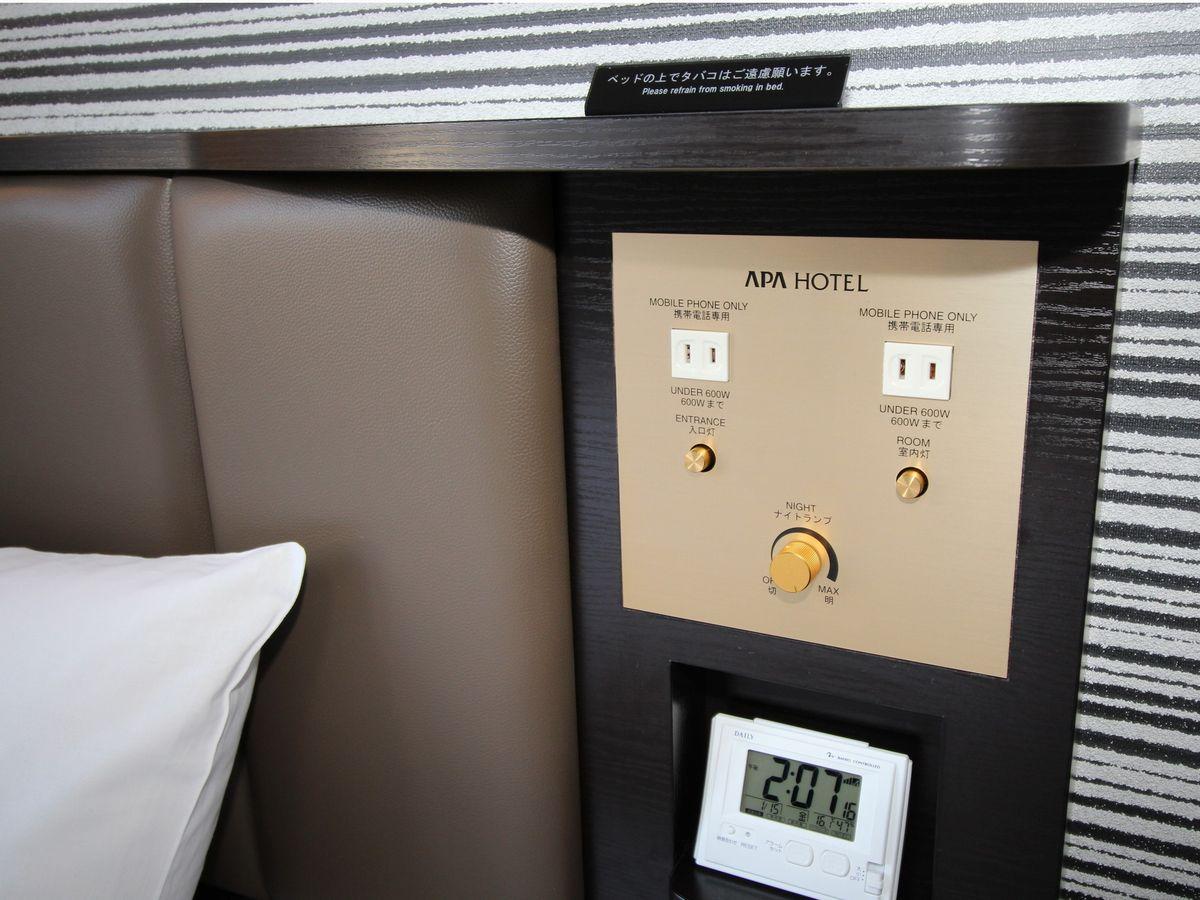 アパホテル<彦根南> / ダブル禁煙室(16.5平米 ベッド幅140cm)