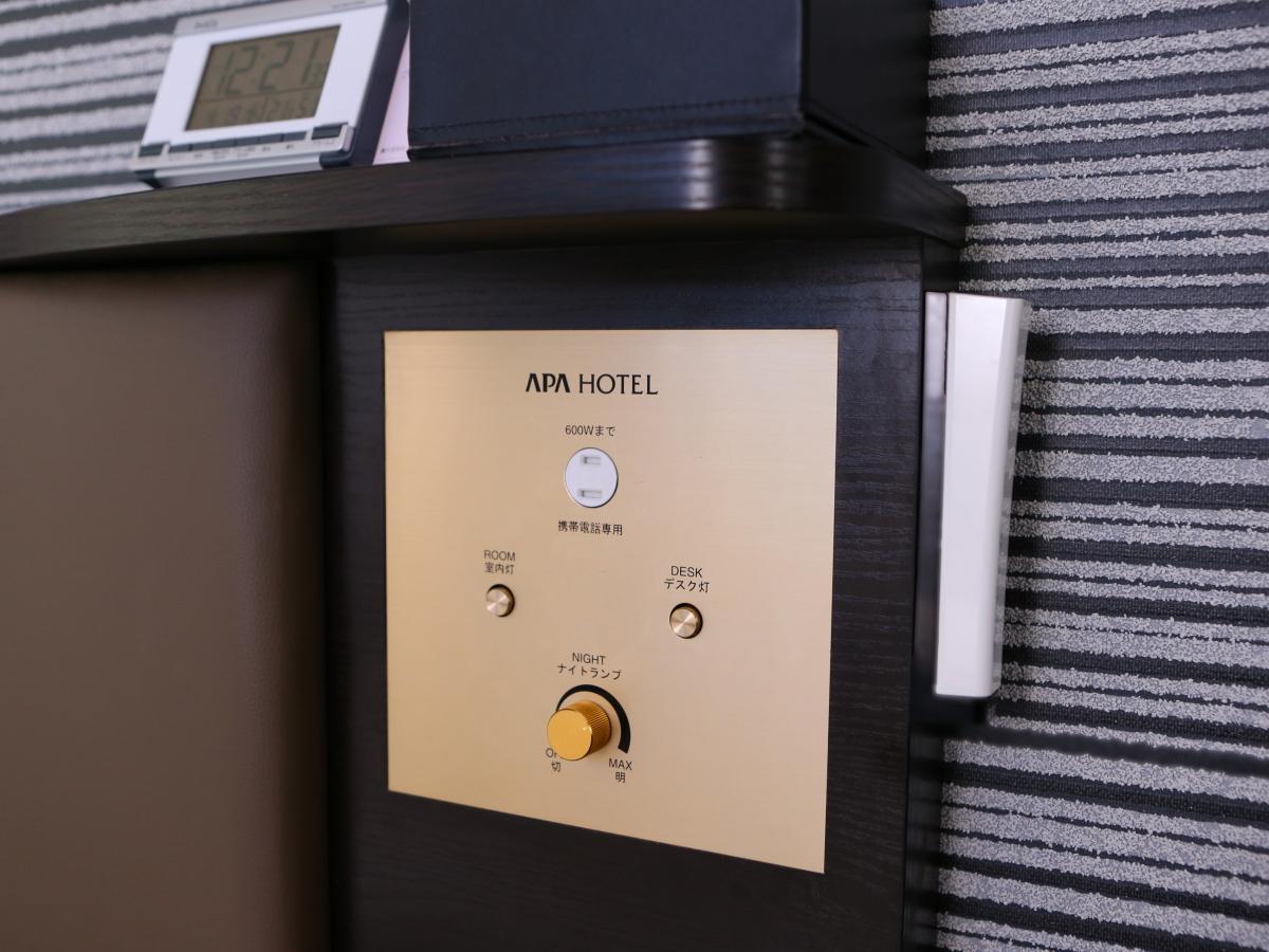 アパホテル<彦根南> / ダブル喫煙可(16.5平米 ベッド幅140cm)