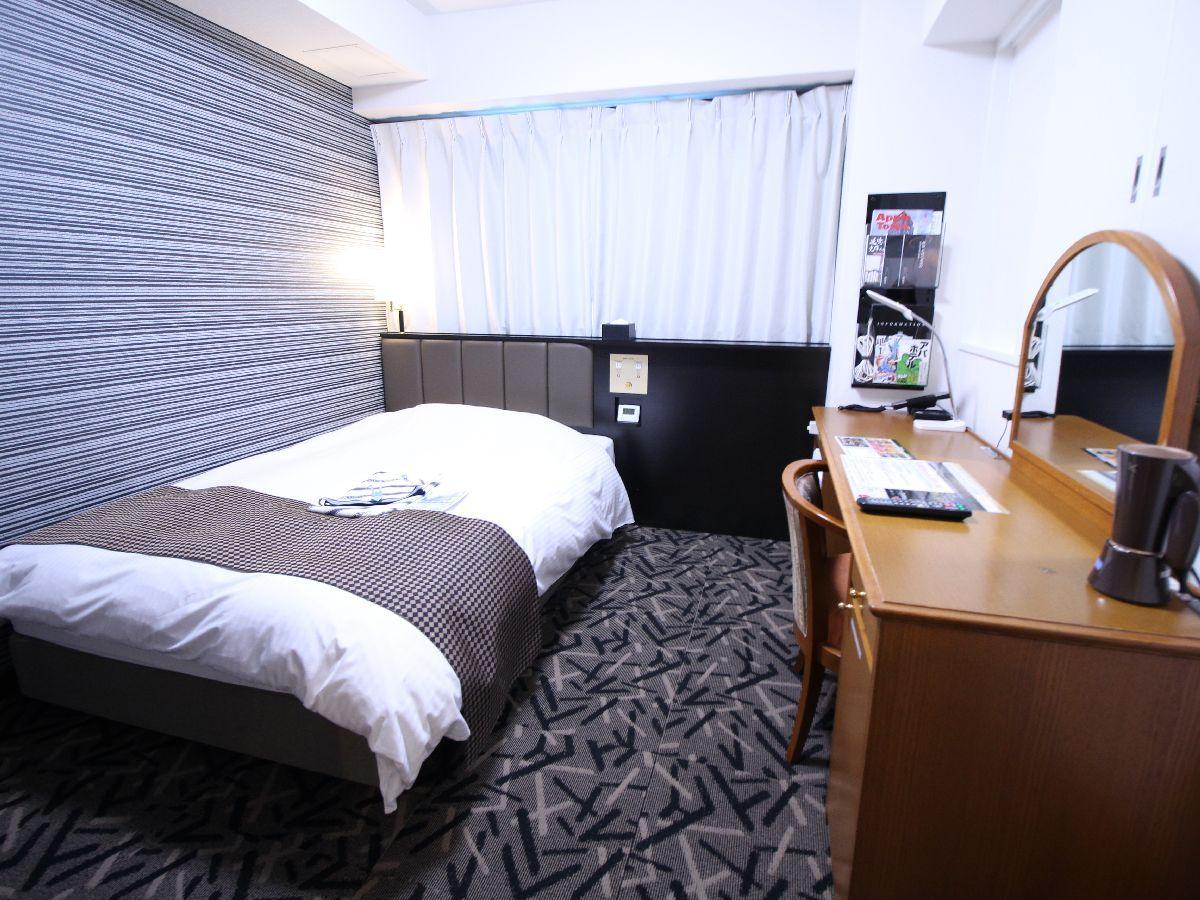 アパホテル<彦根南> / シングル喫煙可(15.5平米 ベッド幅120cm)