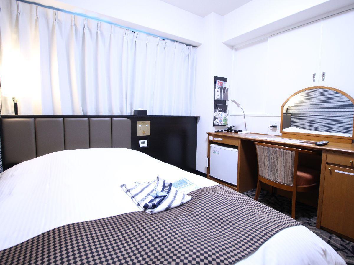アパホテル<彦根南> / シングル禁煙室(15.5平米 ベッド幅120cm)