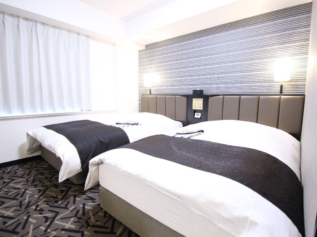 アパホテル<彦根南> / ツイン禁煙室(21平米 ベッド幅120cm)