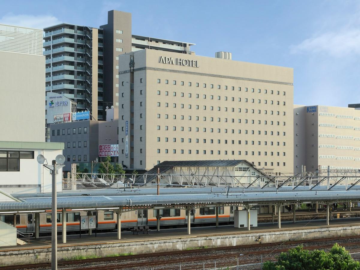 アパホテル<大垣駅前> / 【Simple Stay】 素泊まり ♪お得なポイント♪【大浴場無料/全室Wi-Fi無料】