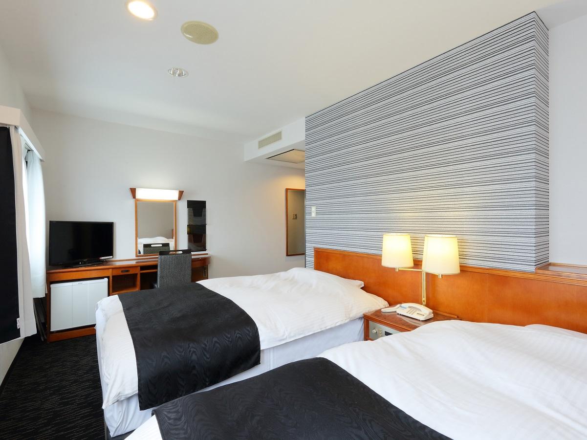 アパホテル<大垣駅前> / ◇禁煙室◇ ツイン 16平米/110cm幅ベッド2台
