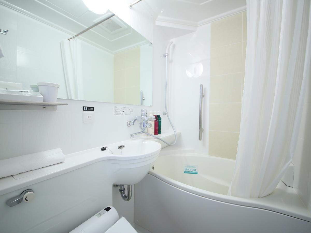 アパホテル〈新大阪駅南〉 / 〇禁煙室シングル〇機能性の追及と環境配慮のコンパクト設計