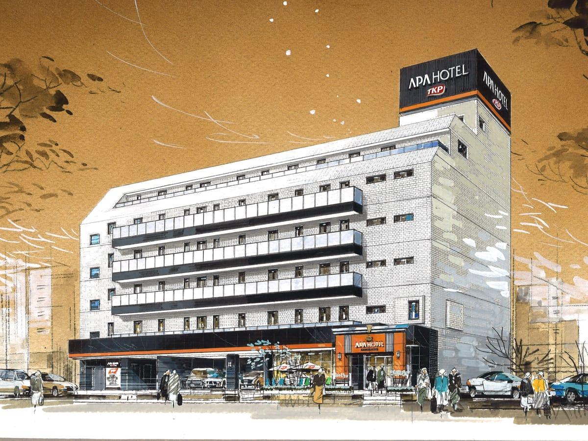 アパホテル<TKP東京西葛西> / ◆最大24時間ロングステイプラン◆東京地下鉄 西葛西駅から徒歩1分■日本橋、大手町へもアクセス抜群!