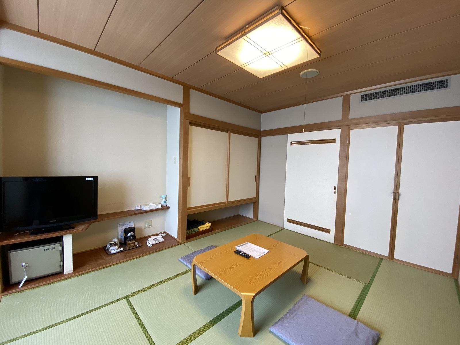 満天の星空を堪能するリゾート 芦別温泉スターライトホテル / ■和室10畳■バス無し・禁煙