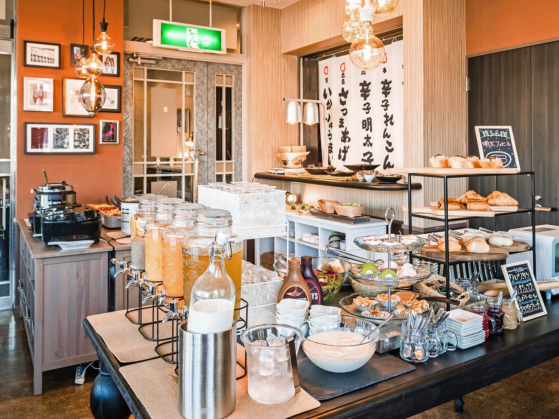 ホテルエリアワン博多 / 【スタンダード】九州名産取り揃え♪和洋朝食ビュッフェ付プラン