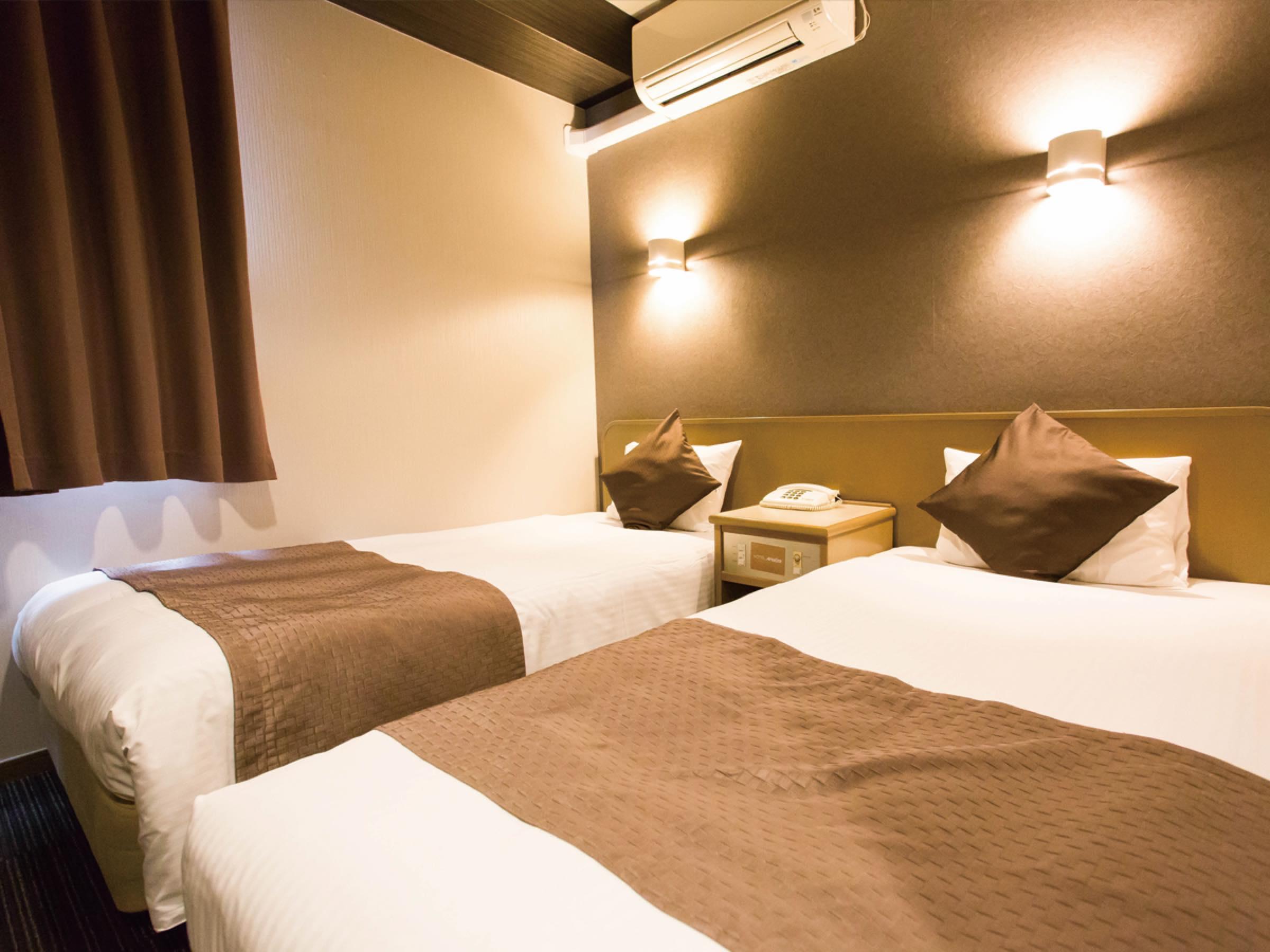 ホテルエリアワン博多 / ◆喫煙◆ツインを一人で広々利用【15平米】