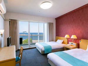 HOTEL AreaOne Koshiki Island / ツイン★禁煙・Wifi完備★ベッド2台(1~2名)