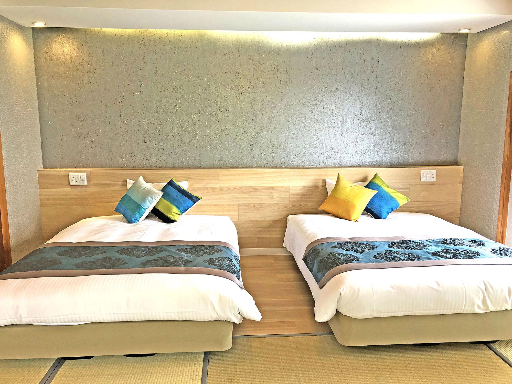 小さなホテル SHIMOKOSHIKI / 和洋DXツイン★2〜4名【140cm×2台】