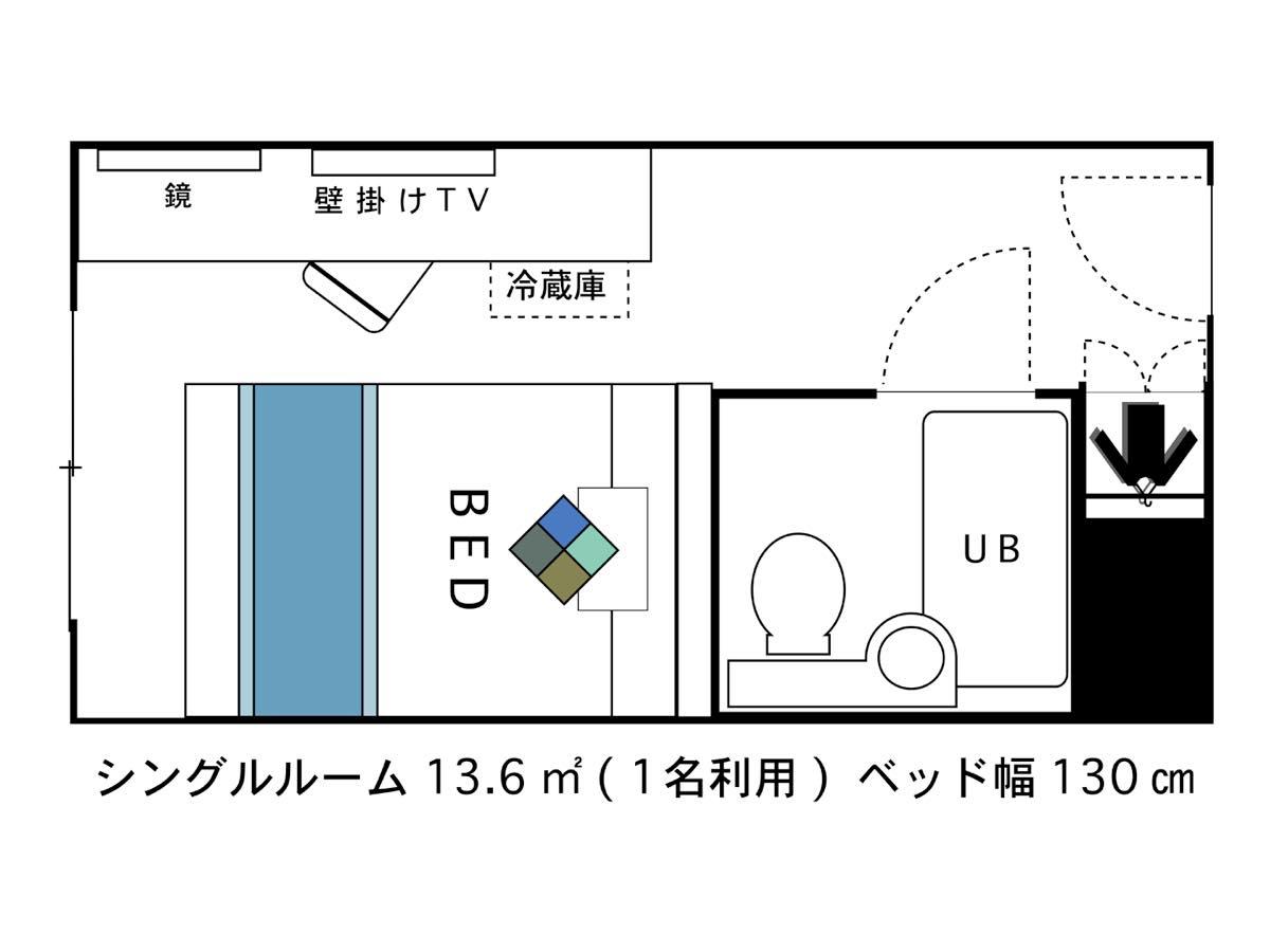 ホテルエリアワン東海 / ◇禁煙◇シングル【13.9平米】