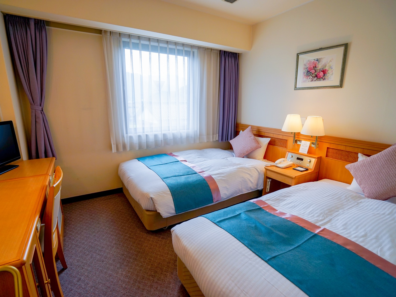 ホテルエリアワン和田山 / 【禁煙室】ツインルーム 全室WI-FI&LAN無料接続可能