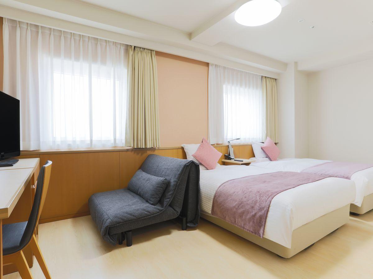アートホテル青森 【禁煙】アクセシブルツイン