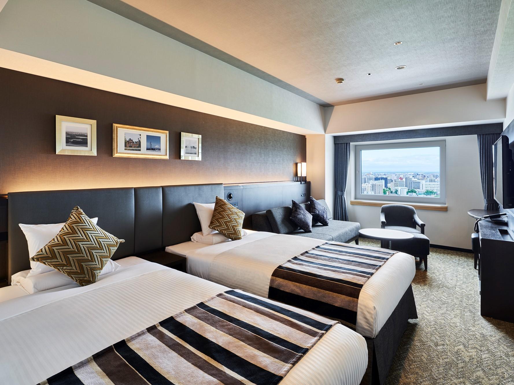 ホテルマイステイズプレミア札幌パーク /  【禁煙】スーペリアツインハイフロア