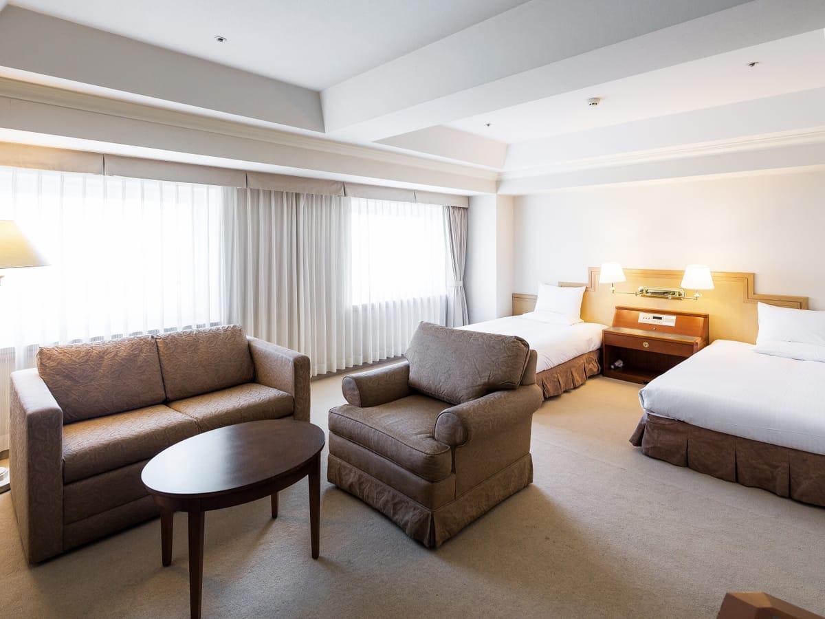 ホテルマイステイズプレミア札幌パーク / 【禁煙】デラックスツインハイフロア