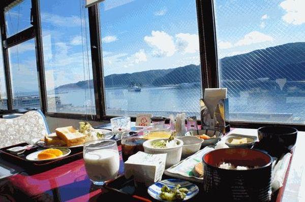 奄美ポートタワーホテル / 【大好評!朝食付♪】絶景!展望レストランで食べる朝食付プラン