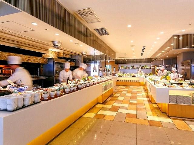 浅草ビューホテル / 【バイキング】【1泊2食シリーズ】ライブクッキングが人気のレストラン「スカイグリルブッフェ武藏」