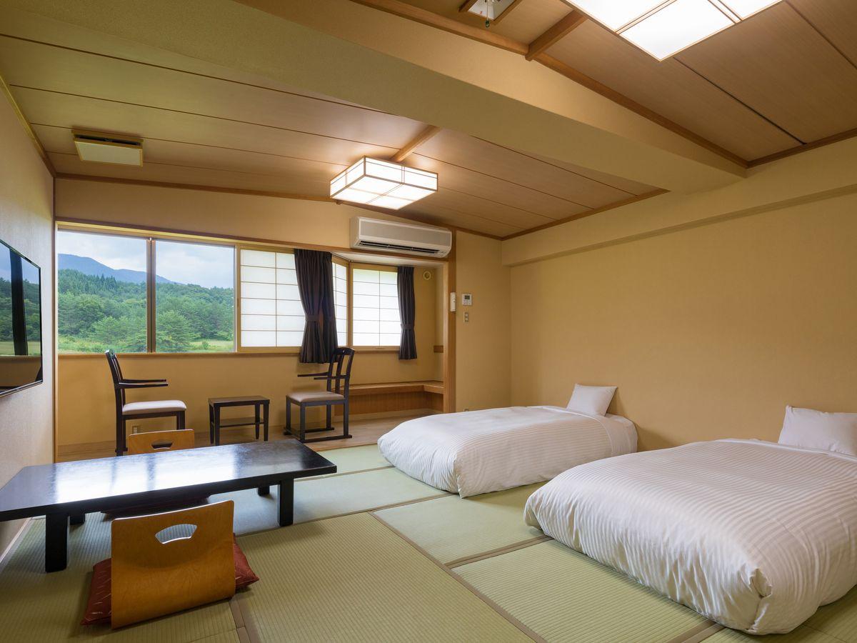 天然温泉 田沢湖レイクリゾート 【喫煙】和室ベッドスタイル