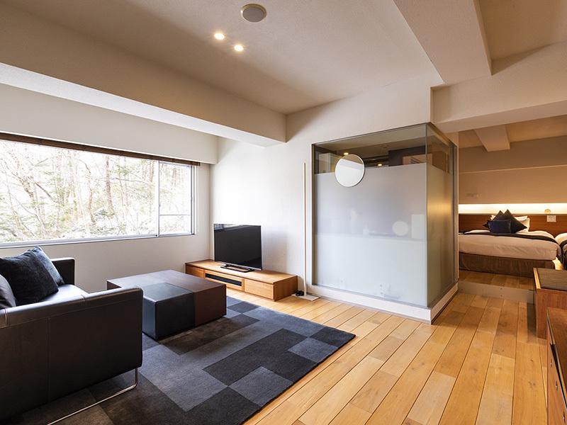 望楼NOGUCHI登別 / 【スタンダード】ジュニアスイートルームで過ごす大人のプライベート空間(50平米・客室展望温泉風呂付)