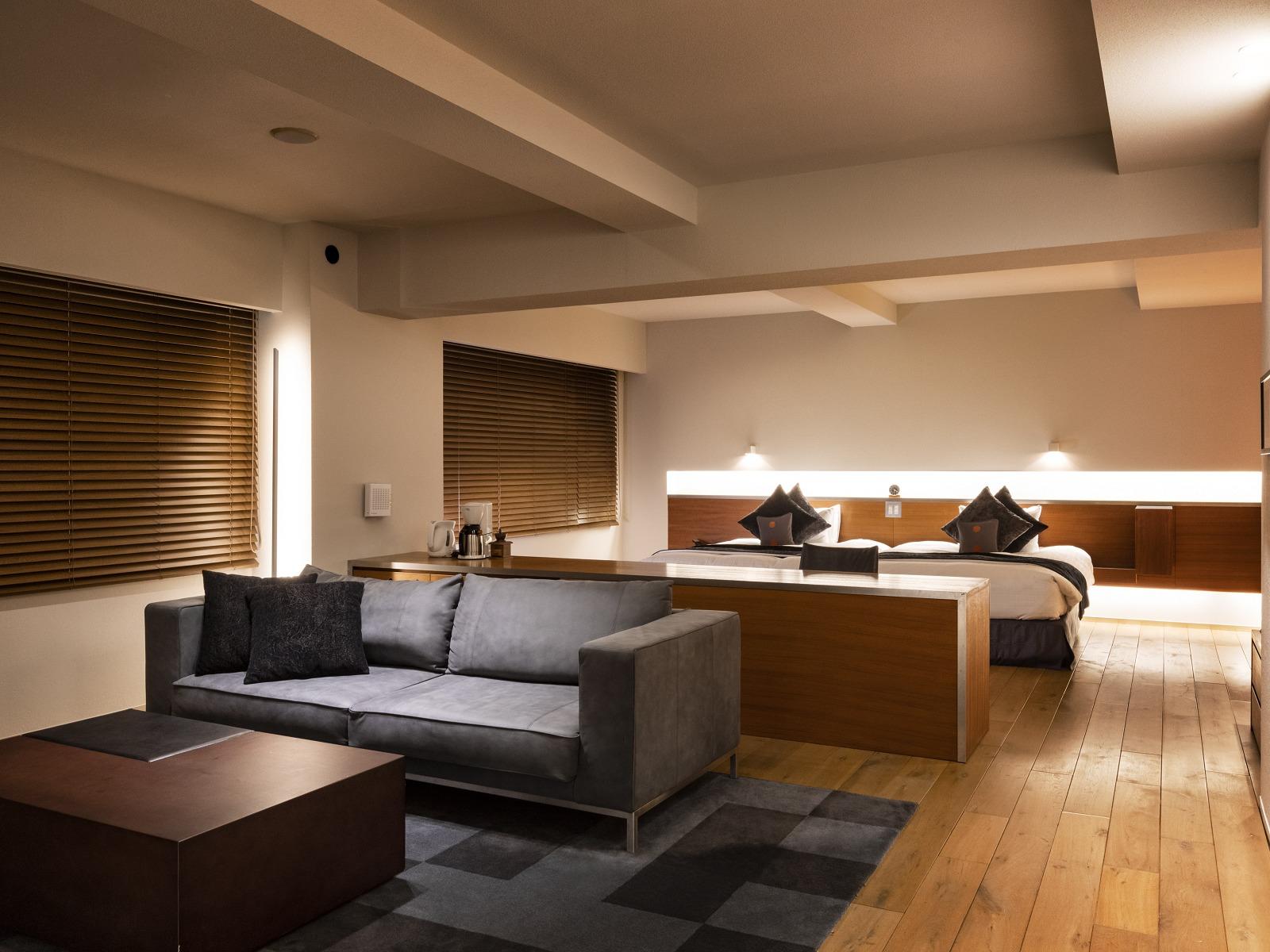 望楼NOGUCHI登別 / 【スタンダード】スイートルームで過ごす大人のプライベート空間(70平米・客室展望温泉風呂付)