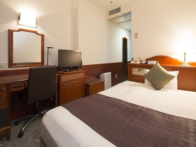 プレミアホテル-CABIN-旭川 / 【喫煙】シングルルーム(幅140cmセミダブルベッド使用)