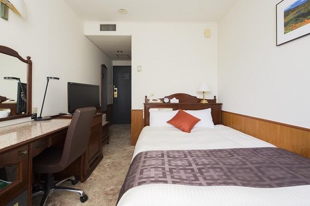 プレミアホテル-CABIN-帯広 / 【禁煙室】 シングルルーム(14㎡・ベット幅140cm)