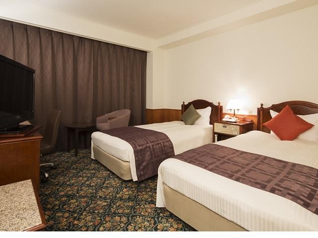 プレミアホテル-CABIN-帯広 / 【喫煙室】 ツインルーム1名利用(18㎡・ベット幅100cm 2台)