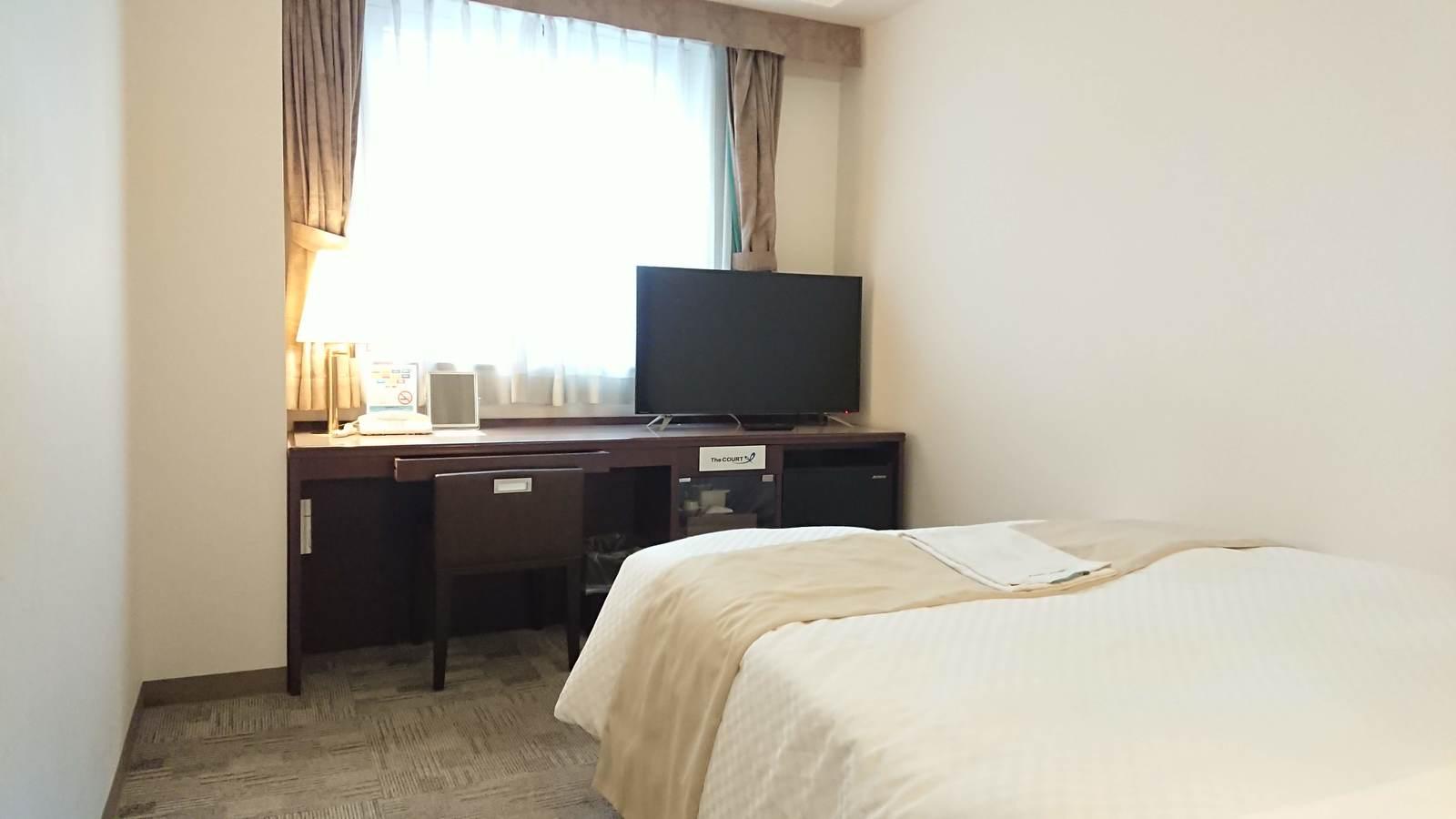 コートホテル旭川 禁煙ダブルベッドルーム