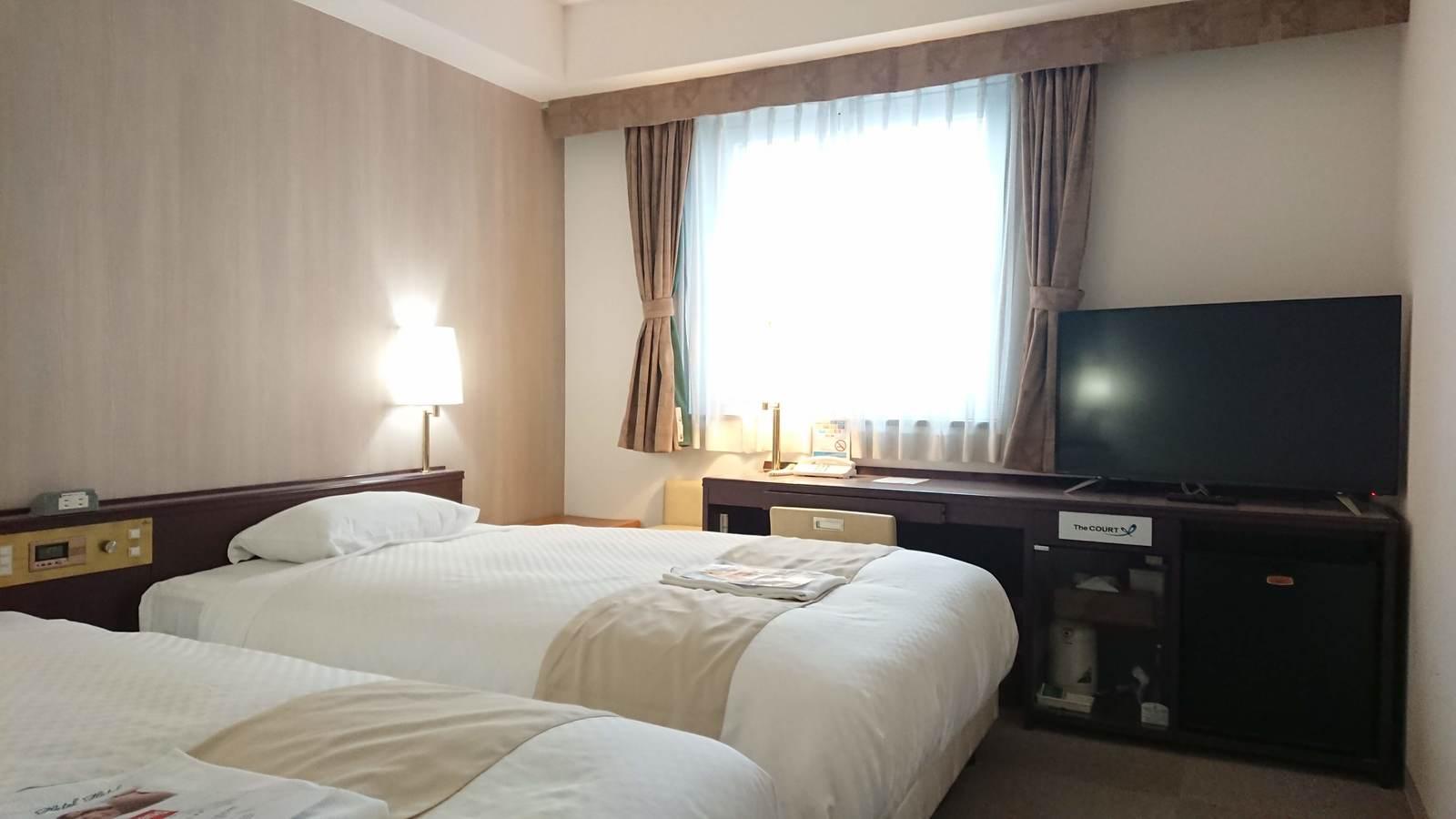 コートホテル旭川 禁煙 ツインベッドルーム