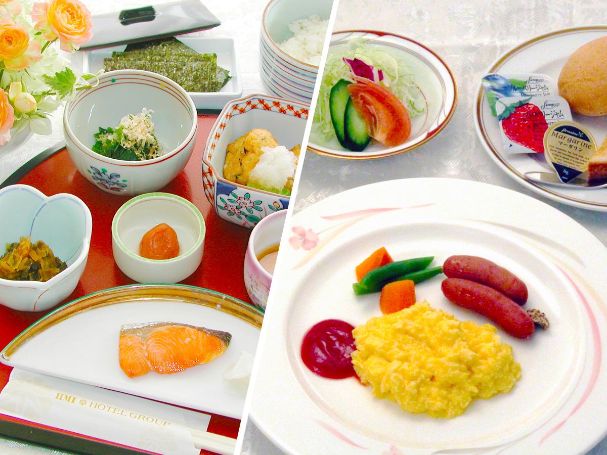 ホテルクラウンパレス青森 / 人気のご朝食(選べる和食、または洋食)付きプラン≪ドリンク付+ヨーグルト≫