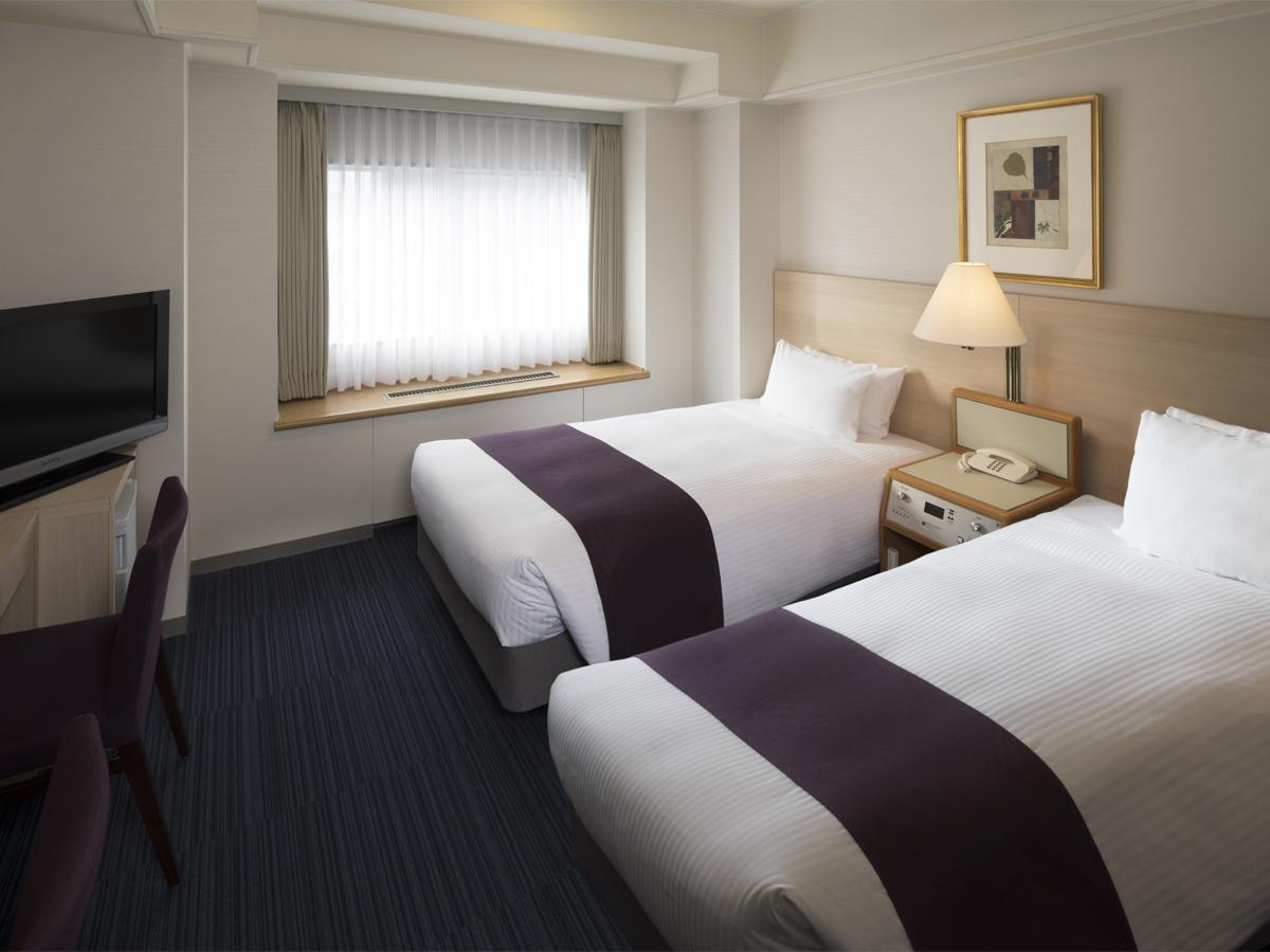 札幌グランドホテル / ツインルーム(部屋指定無し/喫煙)21平米