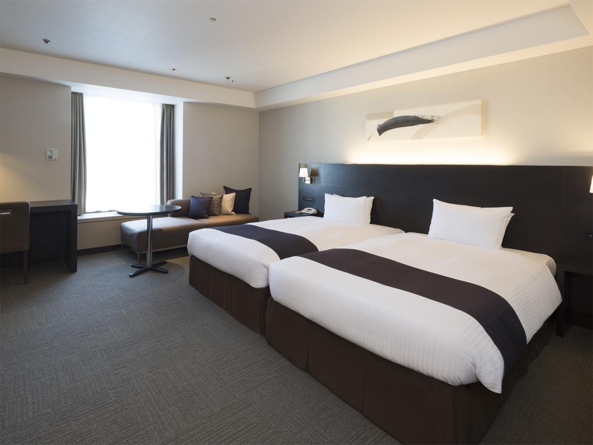 札幌グランドホテル / 【コンフォートフロア】ラージハリウッドツインルーム/禁煙(39平米)