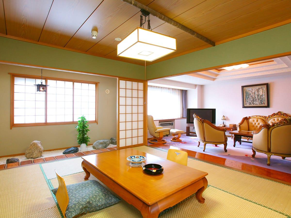 定山渓ビューホテル 【本館】最上階特別室Bタイプ
