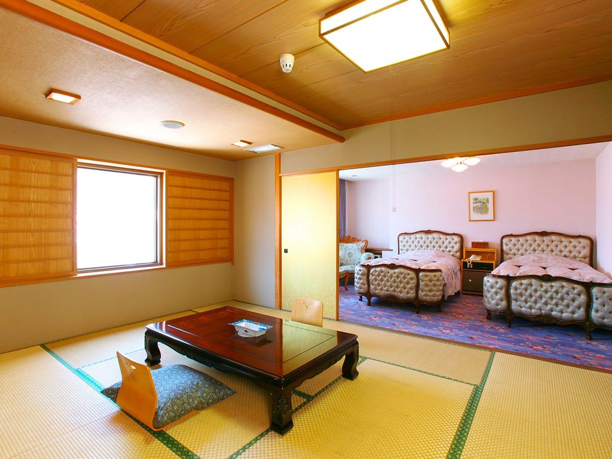 定山渓ビューホテル 【本館】最上階特別室Cタイプ