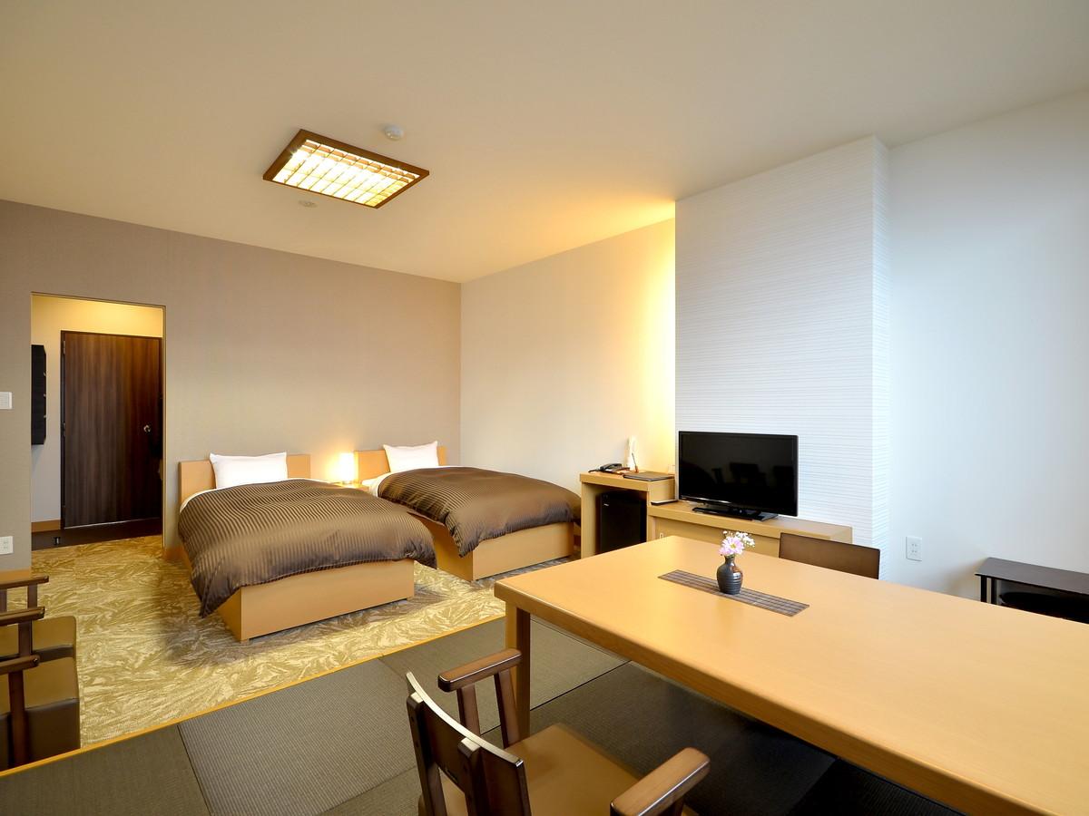 丸駒温泉旅館 / 和洋室(禁煙・湖水側)