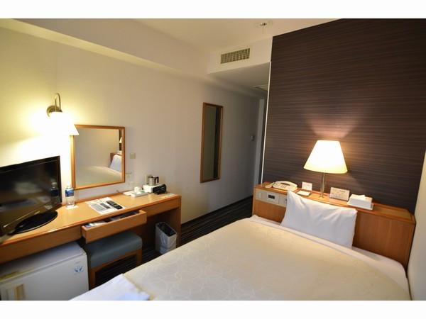 千歳第一ホテル / [喫煙]シングルルーム 12平米 【シモンズ社製ベッド使用】