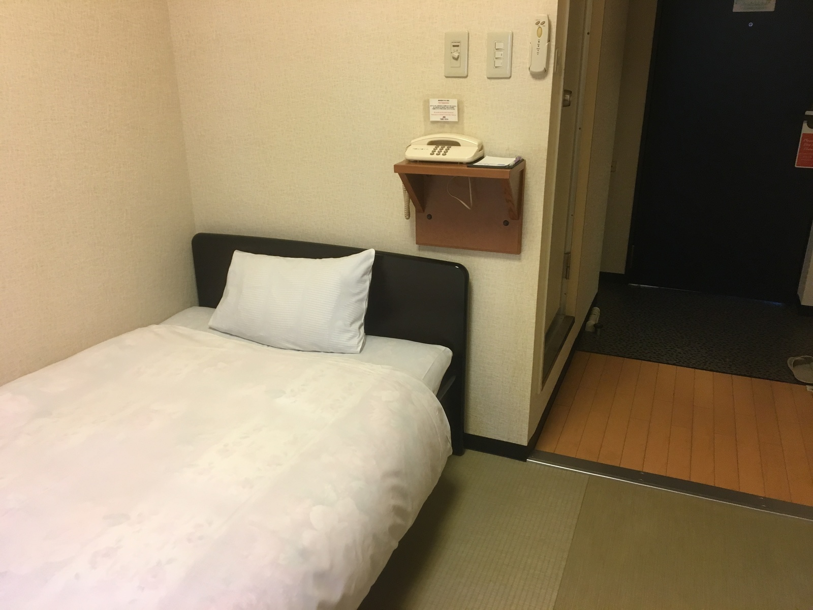 千歳第一ホテル / 〔喫煙OK〕小さな畳のベッドルーム