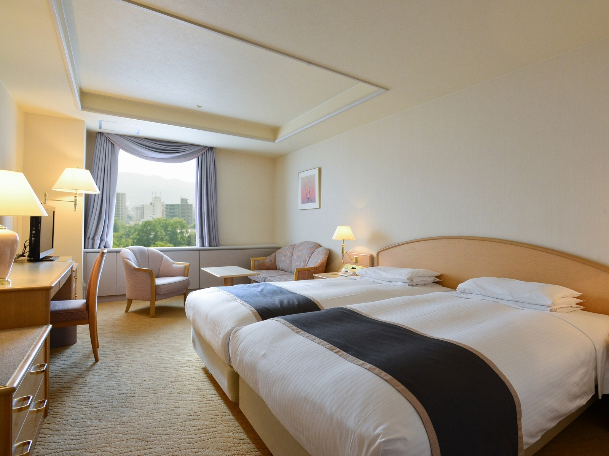 札幌パークホテル / ハリウッドラージツイン/喫煙・公園側・31平米