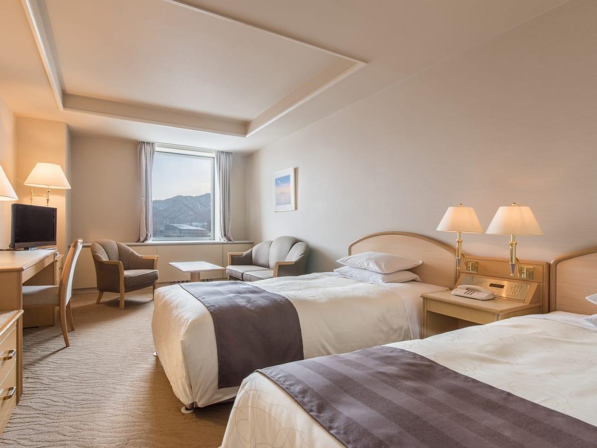 札幌パークホテル / スタンダードラージツイン/喫煙・公園側・31平米