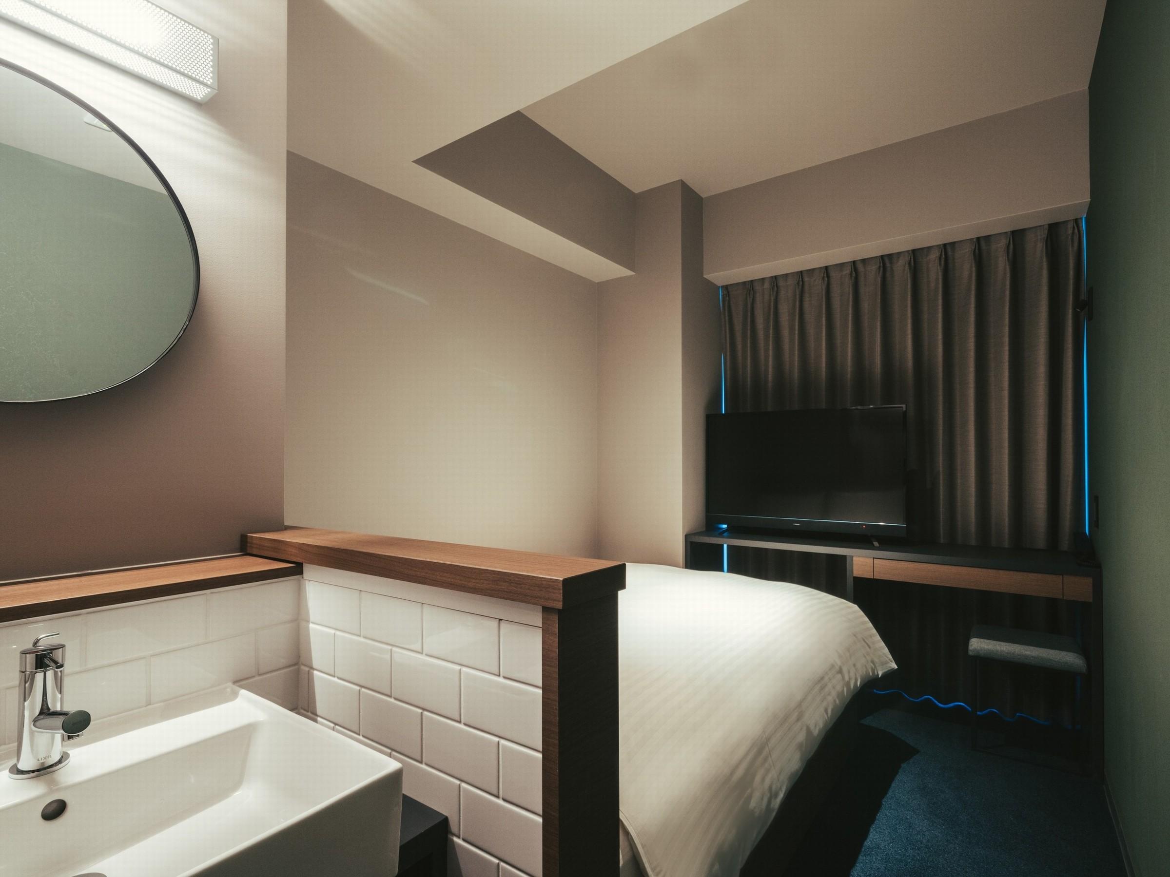センチュリオンホテルCEN福岡博多 / ◆全室禁煙◆スタンダードダブル 《1-2名様》