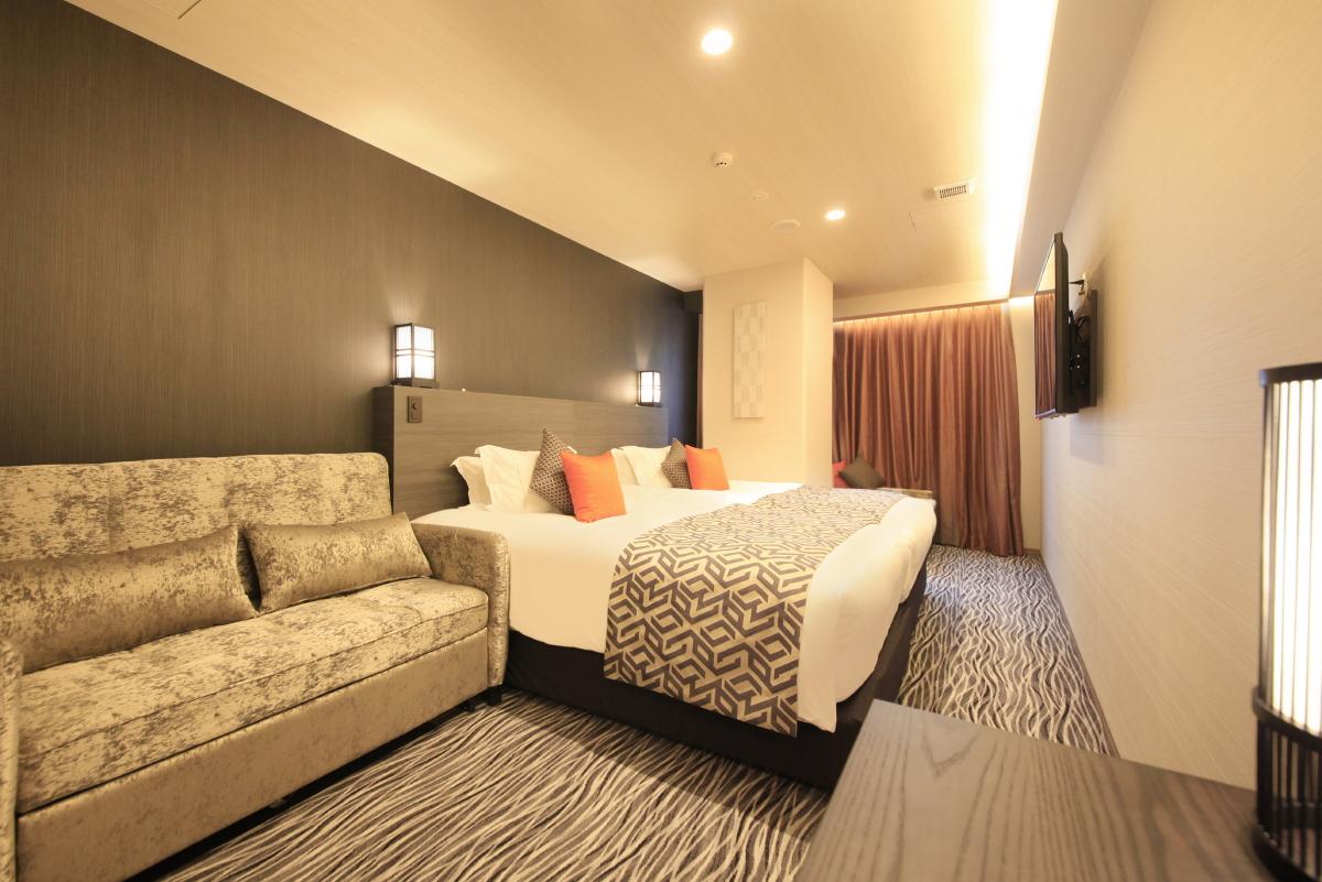 センチュリオンホテルクラシック奈良 / デラックスツイン【喫煙室】<120センチ幅ベッド×2台>