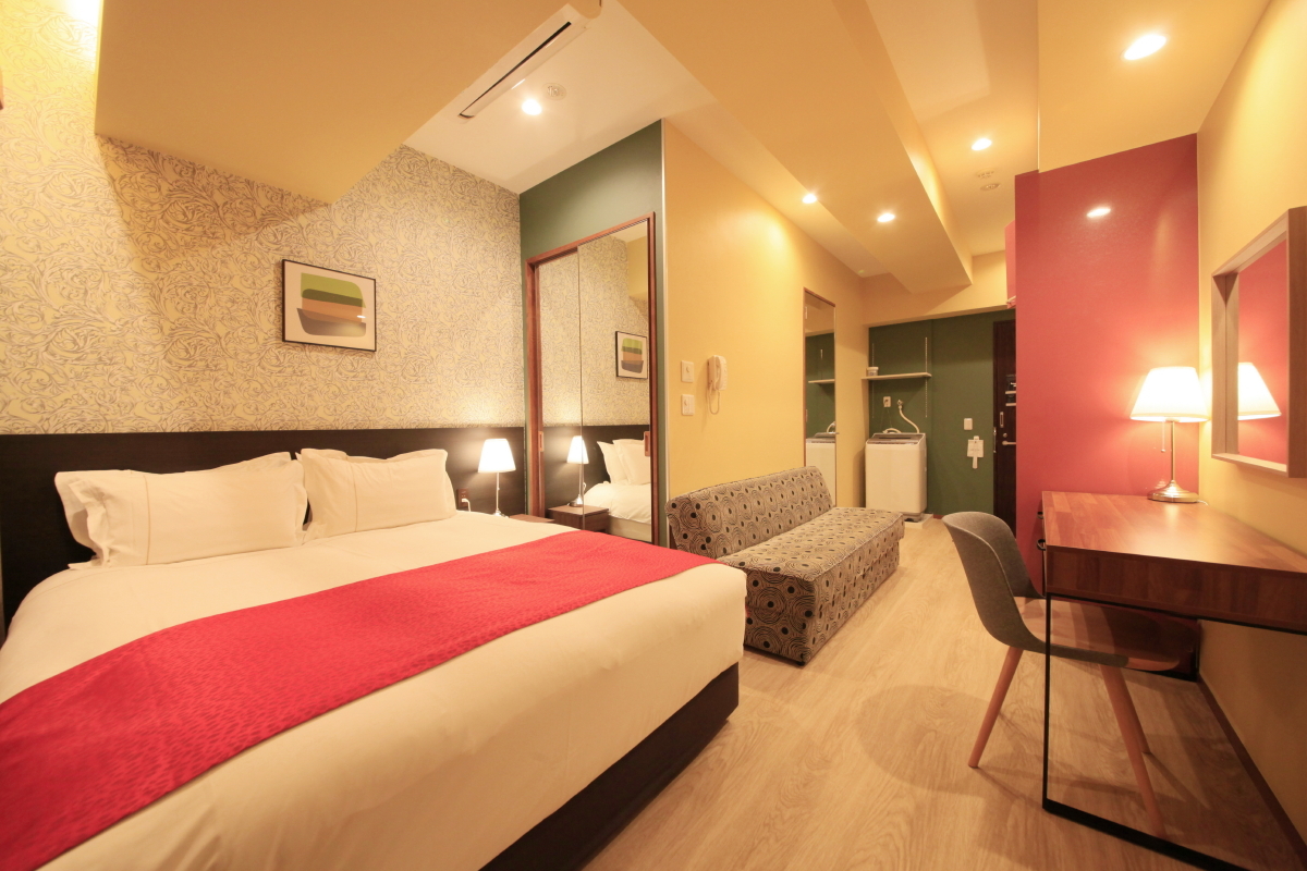 センチュリオンホテル・レジデンシャル赤坂 / ◆全室禁煙◆スーペリアダブル 《1-3名様》
