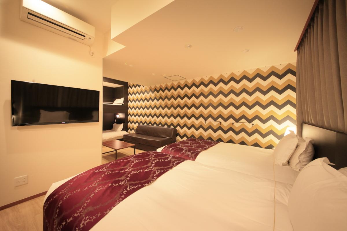 センチュリオンホテル・レジデンシャル赤坂 / ◆全室禁煙◆ファミリーツイン 《1-6名様》