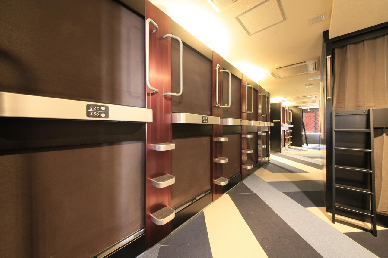 上野ステーションホステル オリエンタル1 【男性フロア】120cmビッグキャビン