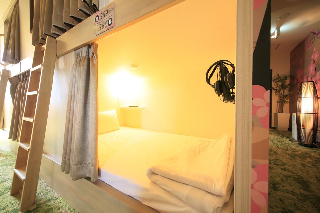 上野ステーションホステル オリエンタル1 【女性フロア】120cmビッグキャビン